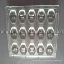 Moule d'injection plastique pour pièce transparente