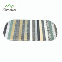 Color Marble Kneading Serving Board