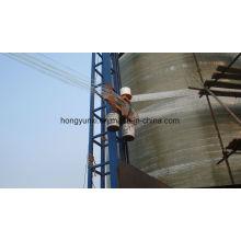 Máquina de enrolamento de filamentos verticais de fabricação de tanques ou vasos de GRP