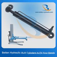 Cilindro hidráulico de un solo efecto para elevar el coche (o tire y empuje cuando lo necesite)