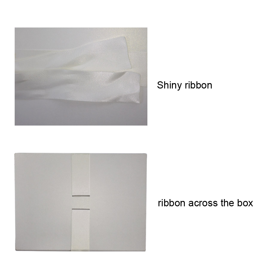 Ribbon Closed Gift Box