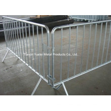 Portable Galvanised Steel Crowd Control Fencing/Hot Dipped Galvanized Fencing/Galvanized Safety Temporary Fencing