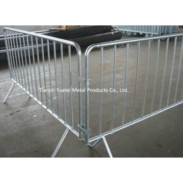 2.3m Fixed Bein Crowd Control Barrier / Speziell entworfen und hergestellt Fußgänger Barrikaden