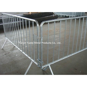 Pedestrian Barrier Crowd Control Site Temporary Fencing/Pedestrian Crowd Control Barrier