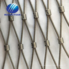 Rede de malha de corda de malha de aço inoxidável Rede de malha de jardim zoológico corda de malha de decoração