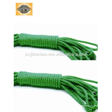 Hilo retorcido / trenzado de 3 hilos de nylon