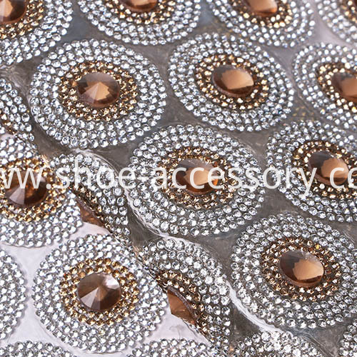 Fashion Hotfix Rhinestone Mesh p2