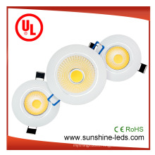 Multi Color Surface Mounted/Recessed COB LED Ceiling/Downlight