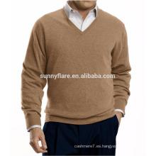 Suéter de cachemira pura Fit Warm Men