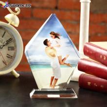 FREESUB Regalo de boda de cristal de la prensa del calor