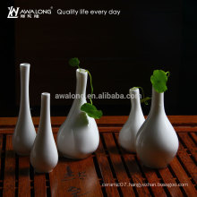 hot sale new design ceramic flower receptacle porcelain flower pot stands designs