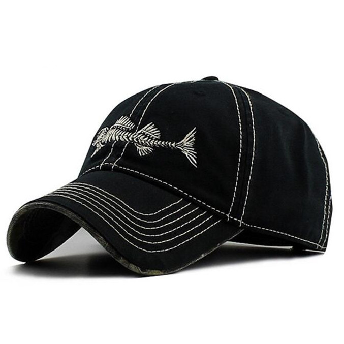 Adult Embroidery Cotton Sports Cap