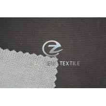 Br Tela de terciopelo de malla pegada con forro de tejido para ropa y sofá