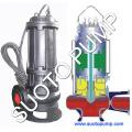 Pompe submersible remplie d'huile de la série Qy