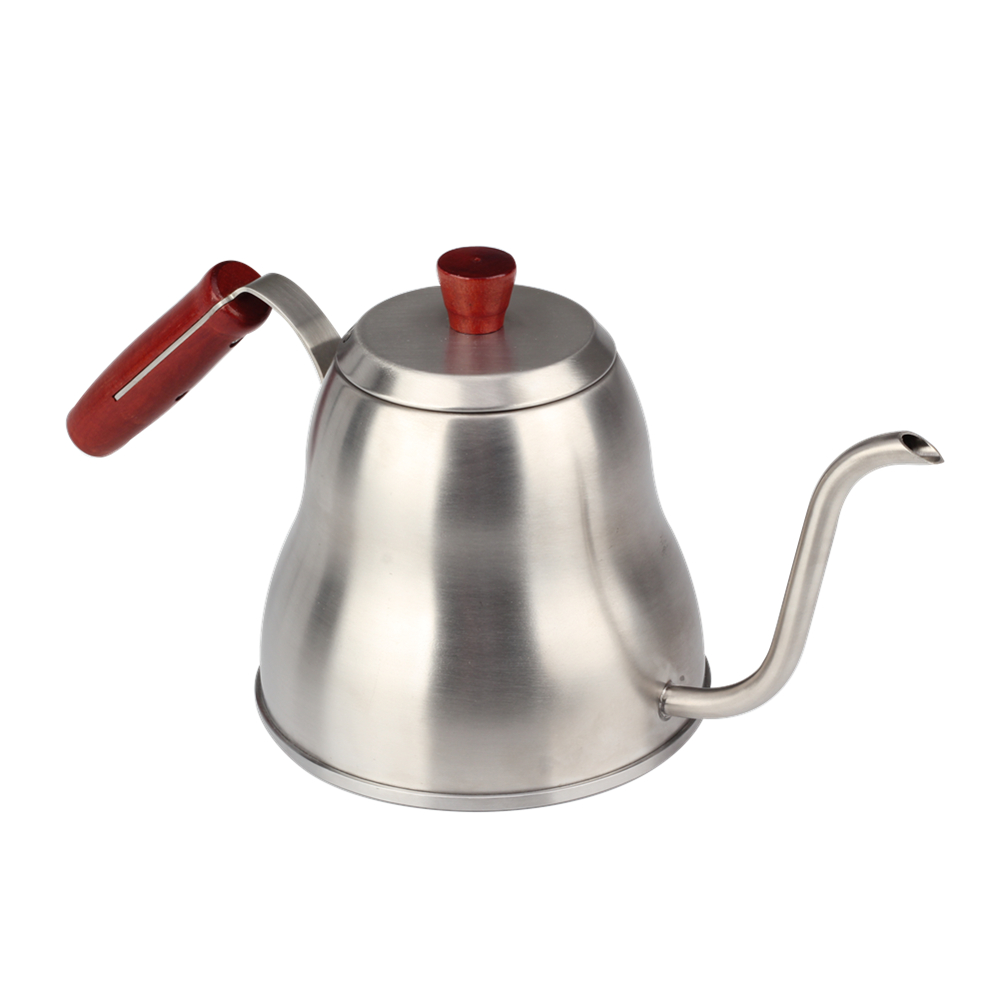 Satin Finish Pour Over Coffee Kettle