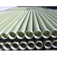 Tubo de mortero de GRP usado para aguas residuales y aceite, transmisión media química