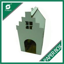Casa de cão de papel extravagante