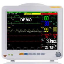 Equipo de ambulancia multiparámetro Monitor de paciente médico