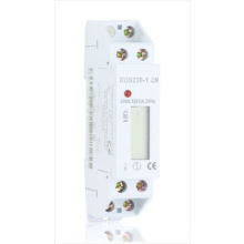 single phase two wire  din rail type energy meter/electricity meter