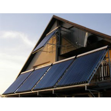 Solar collector heating