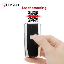 Multi idioma compatible escáner de código de barras bluetooth portátil