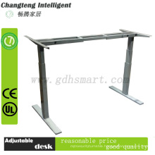 Electric Height adjustable table Frame/standing office & study desk for health