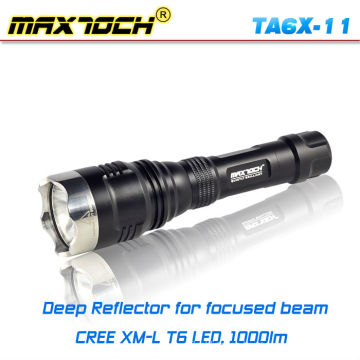 Luz de la antorcha de caza táctico de la T6 Cree Maxtoch TA6X-11
