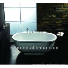 Double-ended Acrylic Massage Bathtub Freestanding (AM128JDCLZ)
