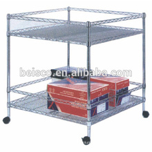 High quality wire shelf dividers wire steel shelving kitchen chromed wire shelving
