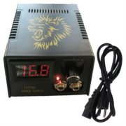 Tattoo Power Supply Source with LED Indicator