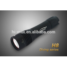 2013 new product for diving cree xm-l t6 led flashlight weapon flashlight