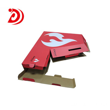 Scooter shaped colored cardboard boxes