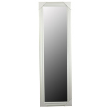 "White Classical Ps Mirror Frame In 12""X48"""