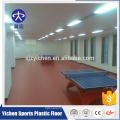 Tapis professionnel de plancher de PVC de ping-pong de plancher de sport de PVC