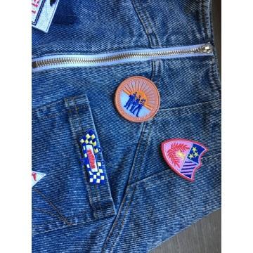 Аппликации Флаг Патчи Жилет Куртка Вышивка