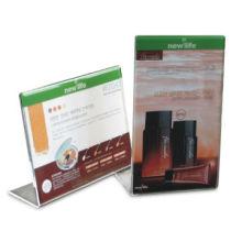 Acrylic Gift Display Stand with Silkscreen Printing and Glazed Surface
