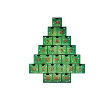 Christmas Tree Advent Calendar Treasure Box