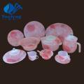 Heat Resistant Opal Glassware-72PCS Glass Dinner Set