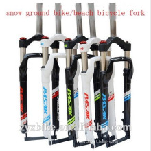 snow ground bike/beach bicycle fork 26*4 super light aluminium alloy sand bike fork fat bike rigid forkS Beach Cruiser fork