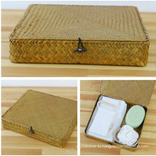 (BC-ST1055) Good-Looking Durable Natural Straw Basket