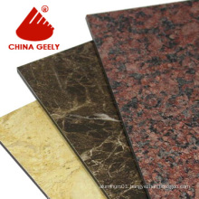 Marble Finished Aluminum Composite Panel (Geely-201)