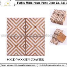 Custom Print Handmade Wooden Coaster