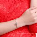 Brazalete de acero esterlina 925 de Bardian Brazalete de plata esterlina Forma redonda Brazalete más popular