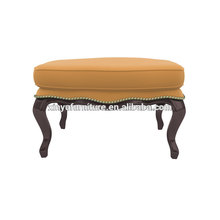 Antike Schönheitssalon Möbel Leder Ottomane XY3374