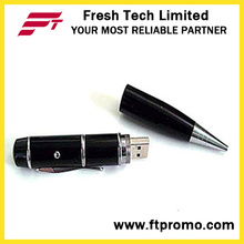 Laser Pointer USB Pen Shape Flash Drive (D451)