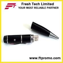 Ponteiro laser usb caneta forma flash drive (d451)