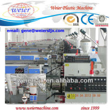 CE certificate wood plastic profile extruder machine