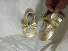 लड़का फैशन चमड़े के एकमात्र जूते