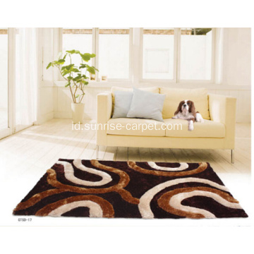 Silk & Twist Karpet Karpet 3D