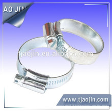 Aço inoxidável304 britânico tipo mangueira clip